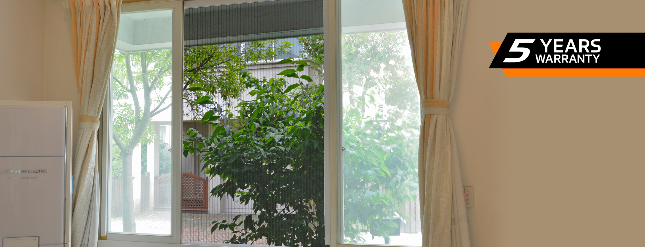pleated-mosquito-net-for-window